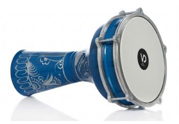 Vatan 114 Mavi - Erzincan İşlemeli Alüminyum Darbuka (20.5cm)