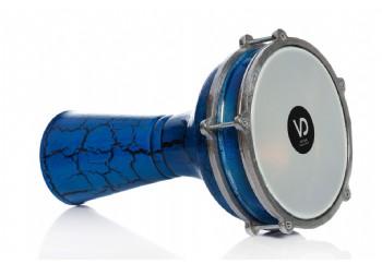 Vatan 144 Mavi - Alüminyum Çatlak Boyalı Darbuka (18.5cm)