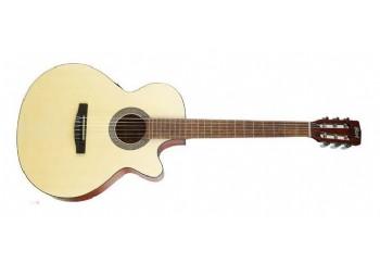 Cort CEC1 OP - Open Natural - Elektro Klasik Gitar
