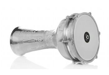 Vatan 305 - Alüminyum Çekiç Dövme Zilli Darbuka (22.5cm)