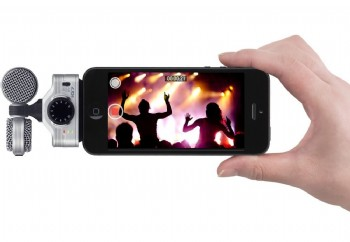 Zoom iQ7 Mid-Side Stereo Microphone for iOS Devices - iPhone/iPad/iPod ile Uyumlu Kayıt Mikrofonu