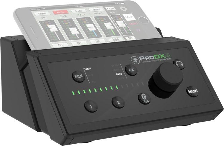 mackie prodx4 4 channel wireless digital mixer wireless mikser mydukkan. Black Bedroom Furniture Sets. Home Design Ideas