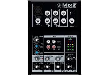 Mackie Mix5 - 5 Kanal Kompak Mikser