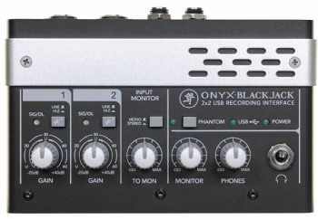 Mackie Onyx Blackjack USB Recording Interface