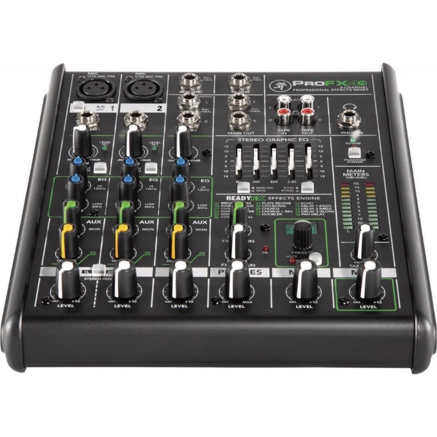 Mackie ProFX4v2 4-Channel Professional FX Mixer