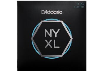 D'Addario NYXL1152 Nickel Wound Electric Guitar Strings Takım Tel - Elektro Gitar Teli 011-052