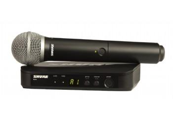 Shure BLX24E/PG58 Wireless Vocal System - Telsiz Mikrofon Sistemi (Wireless-Kablosuz)