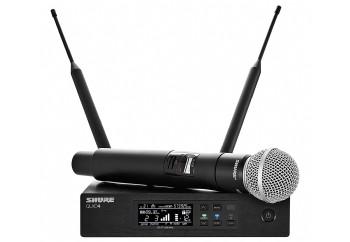 Shure QLXD24/SM58 Handheld Wireless Microphone System - Telsiz Mikrofon Sistemi (Wireless-Kablosuz)