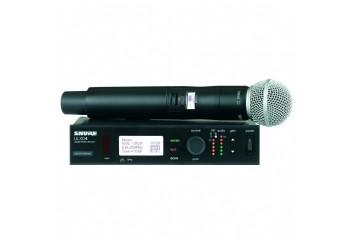 Shure ULXD24/SM58 Handheld Wireless System - Telsiz Mikrofon Sistemi (Wireless-Kablosuz)