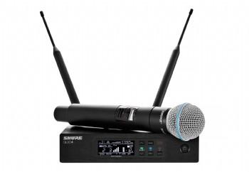Shure QLXD24/Beta58 Wireless Microphone System - Telsiz Mikrofon Sistemi (Wireless-Kablosuz)