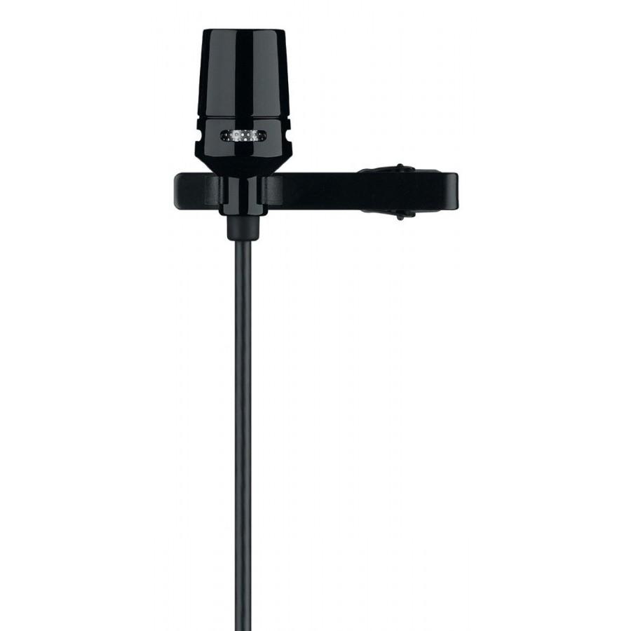Shure CVL-B/C-TQG Centraverse Lavalier Condenser Microphone