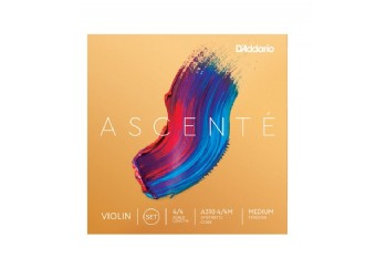 D'Addario Ascent Violin String Medium Tension A310 4/4M Takım Tel - Keman Teli