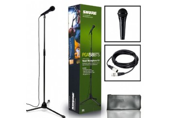 Shure PGA58-BTS Handheld Vocal Microphone Pack - Dinamik Mikrofon Seti