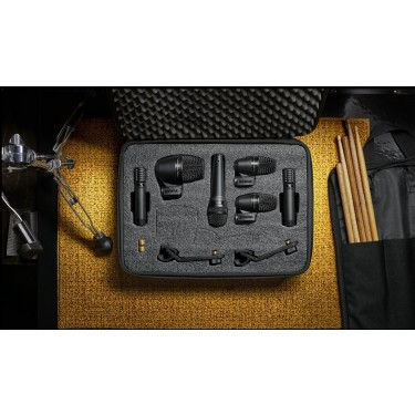 Shure PGA Drumkit6 - 6 Piece drum mic kit