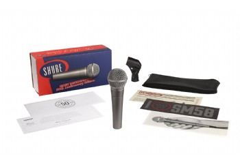 Shure SM58 50th Anniversary Edition - Dinamik Mikrofon
