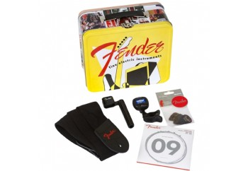 Fender Lunchbox, Vintage Catalog with Accessories - Gitar Aksesuar Seti