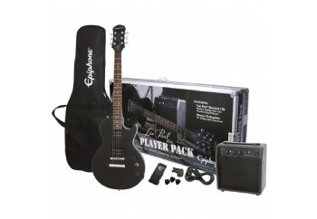 Epiphone Les Paul Player Pack Black - Elektro Gitar Seti