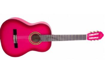 Valencia VC104 Pembe Sunburst - Klasik Gitar