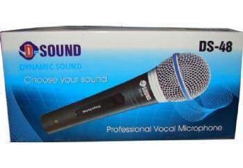 D-Sound DS-48 - Dinamik Mikrofon