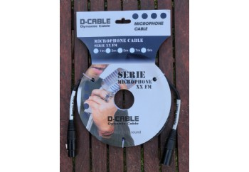 D-Sound XX-FM 1.5 metre - Mikrofon Kablosu
