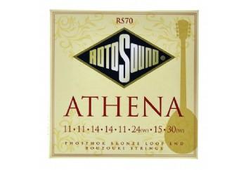 Rotosound RS70 Athena Bouzouki Strings - Buzuki Teli 11-30
