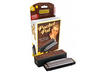 Hohner Pocket Pal Harmonica C (Do Majör) - M59501X