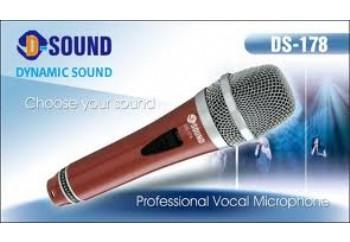 D-Sound DS-178R - Dinamik Mikrofon