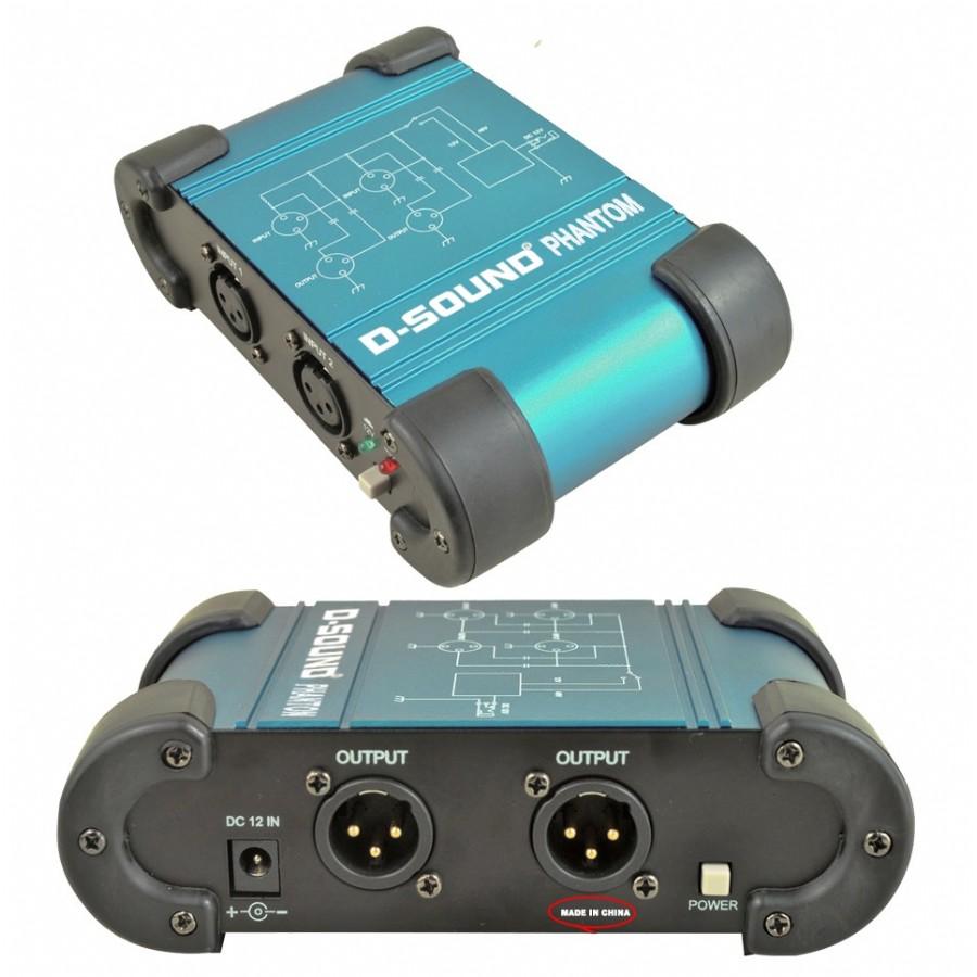 D-Sound DI-BOX Phantom Power