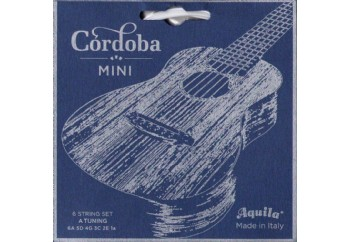 Cordoba 05279 A-Tuning Mini Ball-End Nylon Acoustic Guitar Strings - Guilele Teli