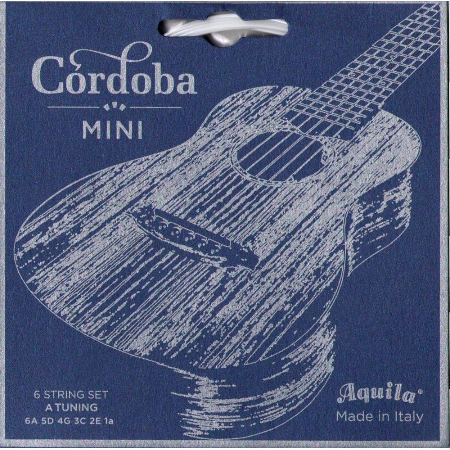 Cordoba 05279 A-Tuning Mini Ball-End Nylon Acoustic Guitar Strings