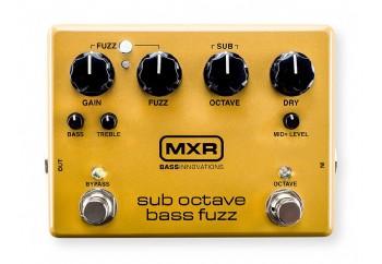 MXR M287 Sub Octave Bass Fuzz Pedal - Bass Fuzz Pedalı