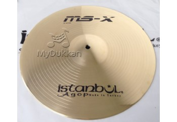İstanbul Agop MS-X HiHat 14 inch - Hi-Hat