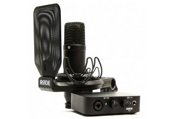 Rode Complete Studio Kit with Audio Interface - Kayıt Paketi