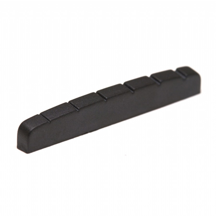 Graphtech PT-5010-00 Black TUSQ XL Fender Style Flat Bottom Slotted Nut