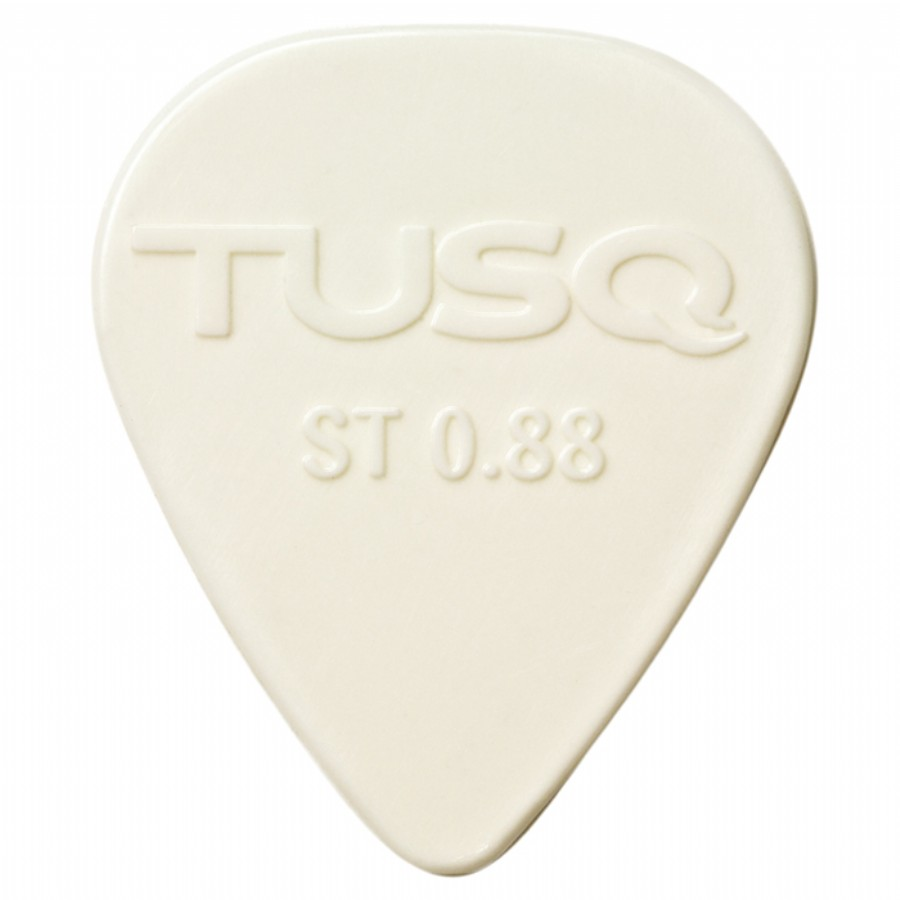 Graphtech PQP-0088-W72 TUSQ Standard Pick .88MM Bright Tone