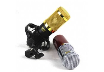 EYS E-2000 3.5mm Professional Large Diaphragm Condenser Karaoke Recording Microphone - Condenser Mikrofon