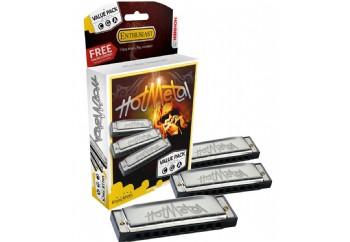 Hohner Hot Metal Harmonica Value Pack 3 Adet