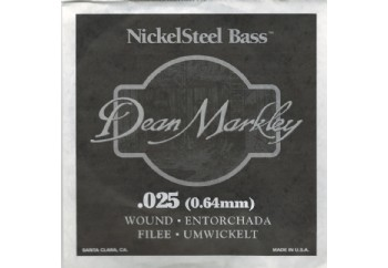 Dean Markley Nickel Steel Bass .025 - Bas Gitar Tek Tel
