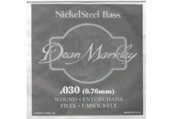 Dean Markley Nickel Steel Bass .030 - Bas Gitar Tek Tel