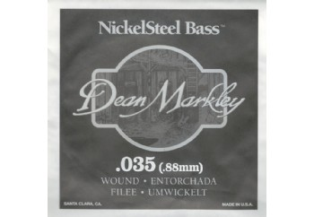 Dean Markley Nickel Steel Bass .035 - Bas Gitar Tek Tel