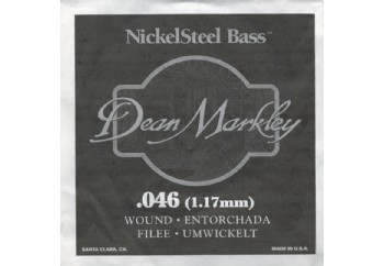 Dean Markley Nickel Steel Bass .046 - Bas Gitar Tek Tel