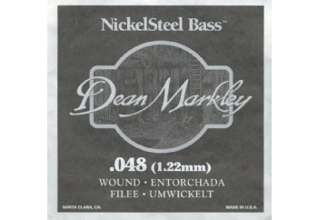 Dean Markley Nickel Steel Bass .048 - Bas Gitar Tek Tel