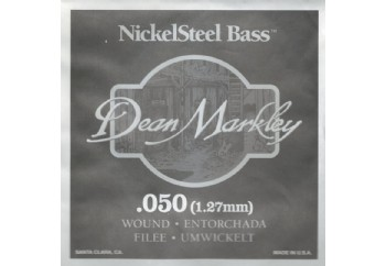 Dean Markley Nickel Steel Bass .050 - Bas Gitar Tek Tel