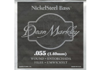 Dean Markley Nickel Steel Bass .055 - Bas Gitar Tek Tel