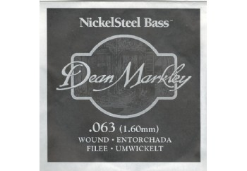 Dean Markley Nickel Steel Bass .063 - Bas Gitar Tek Tel
