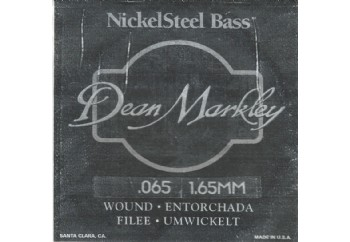 Dean Markley Nickel Steel Bass .065 - Bas Gitar Tek Tel