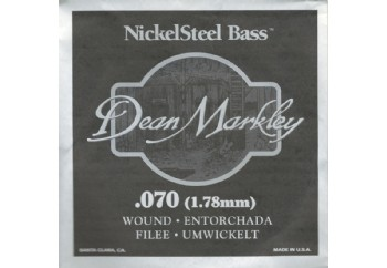 Dean Markley Nickel Steel Bass .070 - Bas Gitar Tek Tel