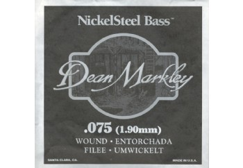 Dean Markley Nickel Steel Bass .075 - Bas Gitar Tek Tel