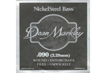 Dean Markley Nickel Steel Bass .090 - Bas Gitar Tek Tel
