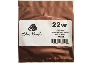 Dean Markley Blue Steel NPS Wound Single .022w - Elektro Gitar Tek Tel